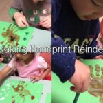 This week children made their own Reindeer. For this activity children worked closely with educators to paint their hands brown like a reindeer's fur and stamp them into the shape of a reindeer. The focus of this activity was to celebrate the beginning of the Christmas season and for the children to further develop their imaginative, creative thinking whilst working on their fine motor skills.