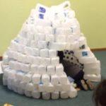 Milk Bottle Igloo