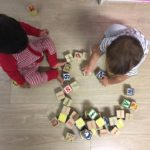 Building block for young children promotes development of fine motor skills and ability to identifying colours and shapes. This activity connects to the EYLF Learning Outcome 1: Children have a strong sense of identity