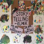 Focusing on story telling - the book ELMER children participated in different colour activities centred around building confidence and individualism,while promoting creative thinking and fine motor development. These activities connect to EYLF Learning Outcomes, 1 children have a strong sense of identity and 5: Children are effective communicators.